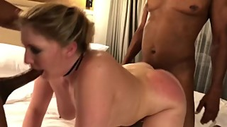Amber Heart (hottwife09) BBC spitroast