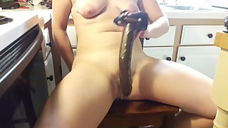 Wifey squirts on her BBC