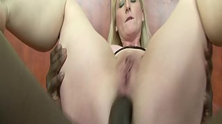 Cheating Wife With Huge Tits Gets Anal Fucking By BBC