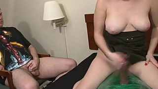 Zombie Jones - Humiliated Husband watches Wife pleasure Big Black Cock