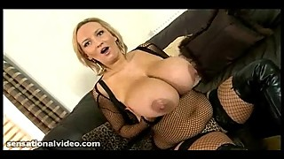 Nasty Big Tit British Slut Fucks Huge Black Cock While Hubby is Away