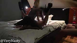 Husband watches BBC fucking his thick wife