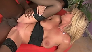 Cheating Wife With Huge Tits Searches For Big Black Cock