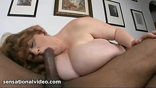 Huge Tit BBW Sapphire Loves to Suck Big Black Cocks