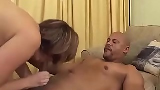 Huge Tit Curvy WIfe Lisa Sparxxx Sucks Big Black Cock