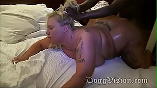Foxy Kitty Barebacked at Hotel Gangbang