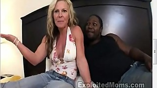 Nice looking Blonde cougar destroyed by bbc in Hot Milf Ass Video