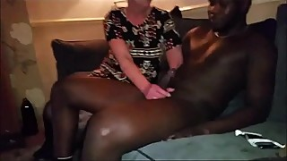 Blonde Milf Wife'_s BBC Experience