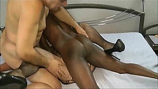 Cougar Wife Cuckolding Threesome