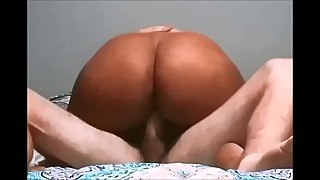 Fucking my black booty wife