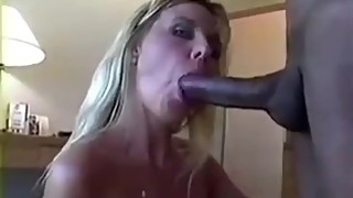 Sexy hotwife takes creampie from huge BBC