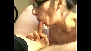 Latina Creampie Wife Slut Sucking Craigslist Guys Dick While Hubby Makes Her Cum