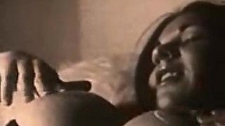 Vintage big tits black and white solo and lesbian make-out GlassDeskProductions