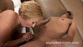 Sexy milf with big boobs taking a black cock in Hot Wife Porn Video