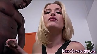 Cuckolding wife creampied