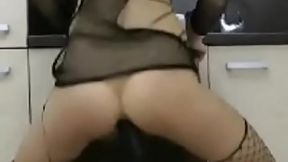Petite wife rides and creams on BBC