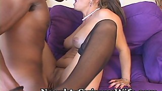 Naughty Wifey Shocked By His Size