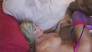 Busty MILF Lathers Pussy