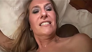 Horned Up Beautiful Mom Got Her Pussy Filled by Black Man