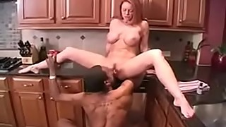 English Redhead Wife Fucks with Two Big Black Cocks for FuckMyWife666.com
