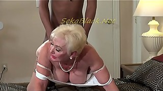 Seka'_s Interracial Sex with Hubby'_s Big Black Driver