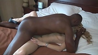 Penthouse Pet Gets BBC while Hubby Films