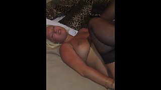 wife gets pounded by bbc while cuckold films
