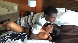 wife and black young hubby record